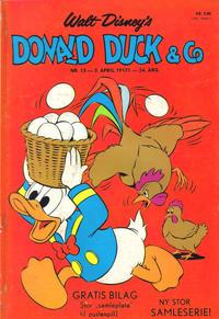 Cover Thumbnail for Donald Duck & Co (Hjemmet / Egmont, 1948 series) #15/1971