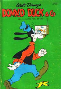 Cover Thumbnail for Donald Duck & Co (Hjemmet / Egmont, 1948 series) #16/1971
