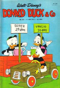 Cover Thumbnail for Donald Duck & Co (Hjemmet / Egmont, 1948 series) #20/1971