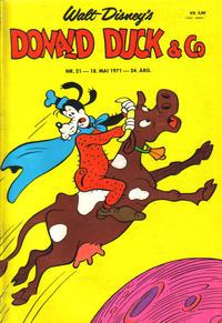 Cover Thumbnail for Donald Duck & Co (Hjemmet / Egmont, 1948 series) #21/1971