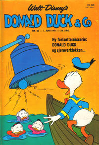 Cover Thumbnail for Donald Duck & Co (Hjemmet / Egmont, 1948 series) #23/1971
