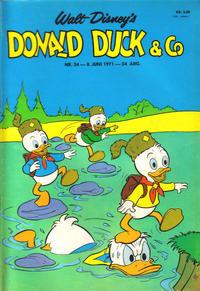 Cover Thumbnail for Donald Duck & Co (Hjemmet / Egmont, 1948 series) #24/1971