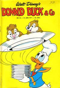 Cover Thumbnail for Donald Duck & Co (Hjemmet / Egmont, 1948 series) #25/1971