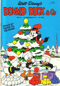 Cover Thumbnail for Donald Duck & Co (Hjemmet / Egmont, 1948 series) #51/1971