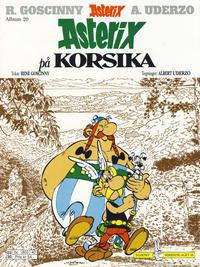Cover Thumbnail for Asterix (Hjemmet / Egmont, 1998 series) #20 - Asterix på Korsika