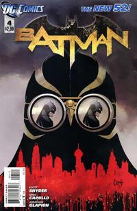 Cover Thumbnail for Batman (DC, 2011 series) #4