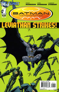 Cover Thumbnail for Batman Incorporated: Leviathan Strikes (DC, 2012 series) #1