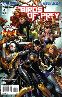 Cover Thumbnail for Birds of Prey (DC, 2011 series) #4