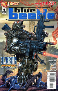 Cover Thumbnail for Blue Beetle (DC, 2011 series) #4