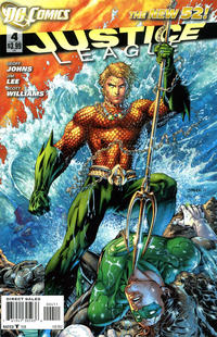 Cover Thumbnail for Justice League (DC, 2011 series) #4