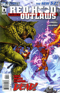 Cover Thumbnail for Red Hood and the Outlaws (DC, 2011 series) #4