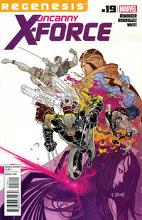 Cover Thumbnail for Uncanny X-Force (Marvel, 2010 series) #19
