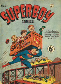 Cover Thumbnail for Superboy (K. G. Murray, 1949 series) #9