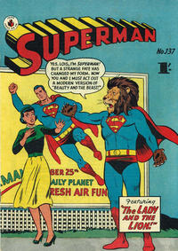 Cover Thumbnail for Superman (K. G. Murray, 1947 series) #137