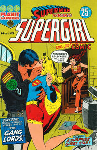 Cover Thumbnail for Superman Presents Supergirl Comic (K. G. Murray, 1973 series) #15