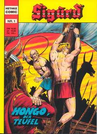 Cover Thumbnail for Sigurd (Norbert Hethke Verlag, 1991 series) #1 - Hongo, der Teufel
