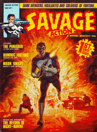 Cover Thumbnail for Savage Action (Marvel UK, 1980 series) #1
