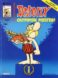 Cover Thumbnail for Asterix (Hjemmet / Egmont, 1969 series) #8 - Olympisk mester! [6. opplag [5. opplag]]