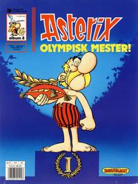 Cover for Asterix (Hjemmet / Egmont, 1969 series) #8 - Olympisk mester! [6. opplag]