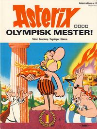 Cover Thumbnail for Asterix (Hjemmet / Egmont, 1969 series) #8 - Olympisk mester! [1. opplag]