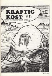 Cover Thumbnail for Kraftig kost (Norsk Tegneserieforum, 1985 series) #8