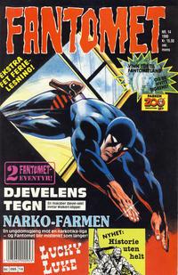 Cover Thumbnail for Fantomet (Semic, 1976 series) #14/1990
