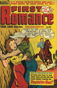 Cover Thumbnail for First Romance (Magazine Management, 1952 series) #20