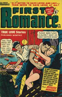 Cover Thumbnail for First Romance (Magazine Management, 1952 series) #23