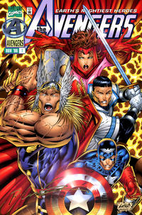 Cover Thumbnail for Avengers (Marvel, 1996 series) #1 [22k Gold Signature Edition]