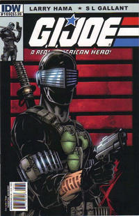 Cover Thumbnail for G.I. Joe: A Real American Hero (IDW, 2010 series) #169 [Cover B]