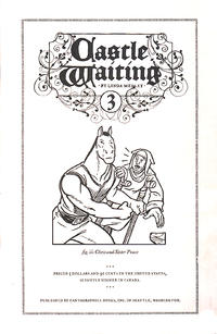 Cover Thumbnail for Castle Waiting (Fantagraphics, 2006 series) #3