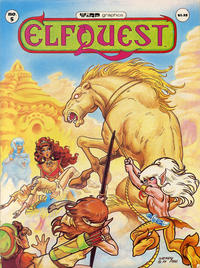 Cover for ElfQuest (WaRP Graphics, 1978 series) #5 [$1.25 later printing]