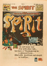 Cover Thumbnail for The Spirit (Register and Tribune Syndicate, 1940 series) #11/20/1949