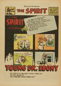 Cover Thumbnail for The Spirit (Register and Tribune Syndicate, 1940 series) #5/29/1949