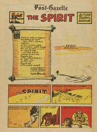 Cover Thumbnail for The Spirit (Register and Tribune Syndicate, 1940 series) #5/8/1949