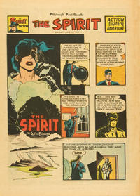 Cover Thumbnail for The Spirit (Register and Tribune Syndicate, 1940 series) #6/12/1949