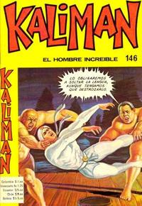 Cover Thumbnail for Kaliman (Editora Cinco, 1976 series) #146