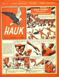 Cover Thumbnail for Hauk (Serieforlaget / Se-Bladene / Stabenfeldt, 1955 series) #8/1957