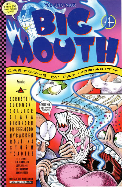 Cover for (You and Your) Big Mouth (Fantagraphics, 1993 series) #4