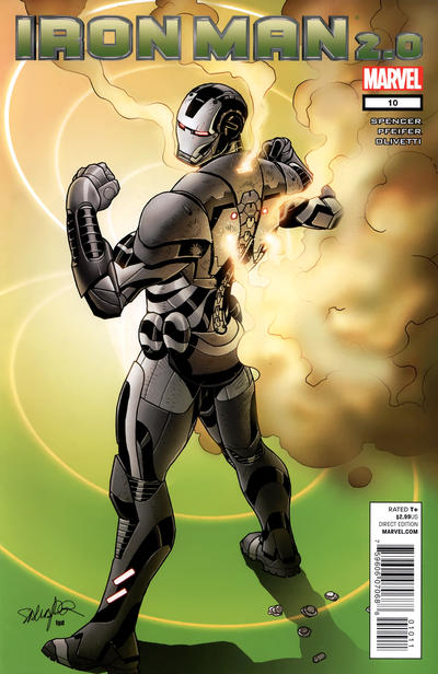Cover for Iron Man 2.0 (Marvel, 2011 series) #10