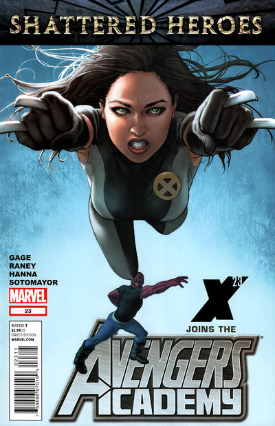 Cover for Avengers Academy (Marvel, 2010 series) #23