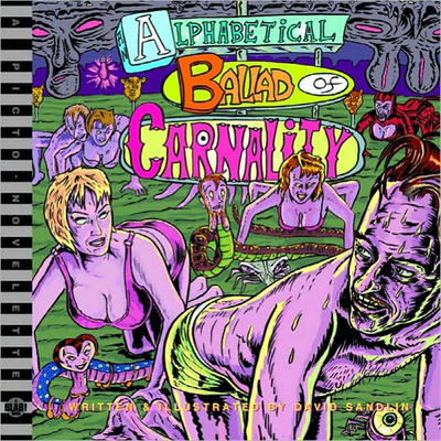 Cover for An Alphabetical Ballad of Carnality (Fantagraphics, 2006 series)