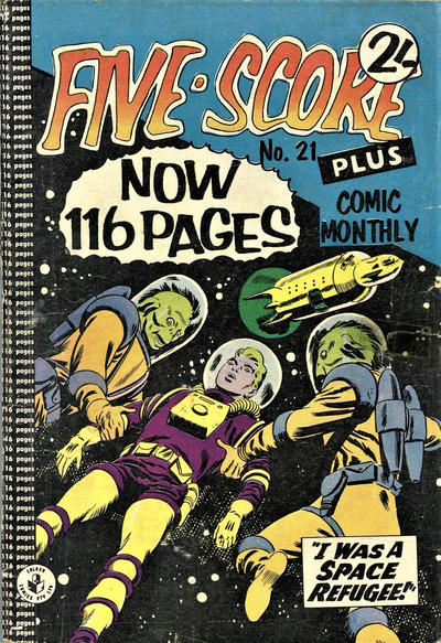 Cover for Five-Score Plus Comic Monthly (K. G. Murray, 1960 series) #21