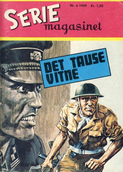 Cover for Seriemagasinet (Serieforlaget / Se-Bladene / Stabenfeldt, 1951 series) #6/1969