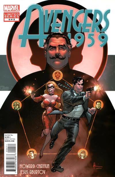 Cover for Avengers 1959 (Marvel, 2011 series) #4