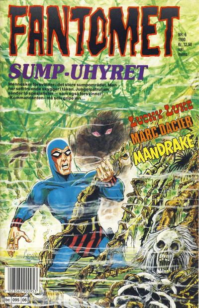 Cover for Fantomet (Semic, 1976 series) #6/1990