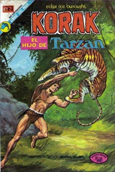 Cover for Korak (Editorial Novaro, 1972 series) #16