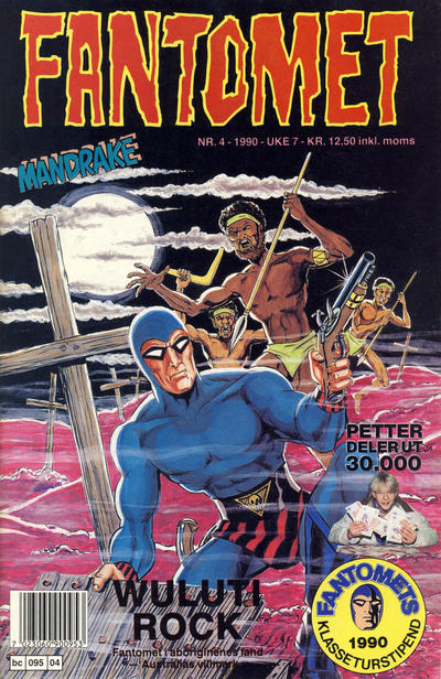 Cover for Fantomet (Semic, 1976 series) #4/1990