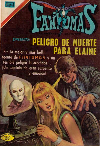 Cover for Fantomas (Editorial Novaro, 1969 series) #65