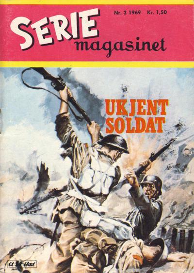 Cover for Seriemagasinet (Serieforlaget / Se-Bladene / Stabenfeldt, 1951 series) #3/1969